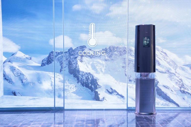 Особенностью AirX является система мониторинга воздуха в помещении