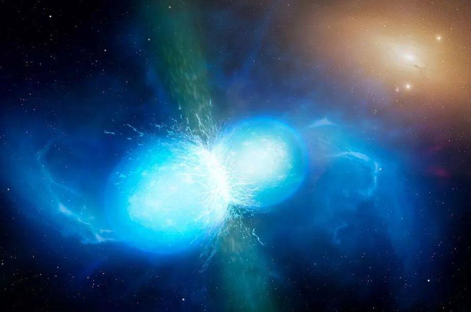 Спросите Итана: почему свет прибыл на 1,7 секунды позже гравитационных волн при слиянии нейтронных звёзд? - 4
