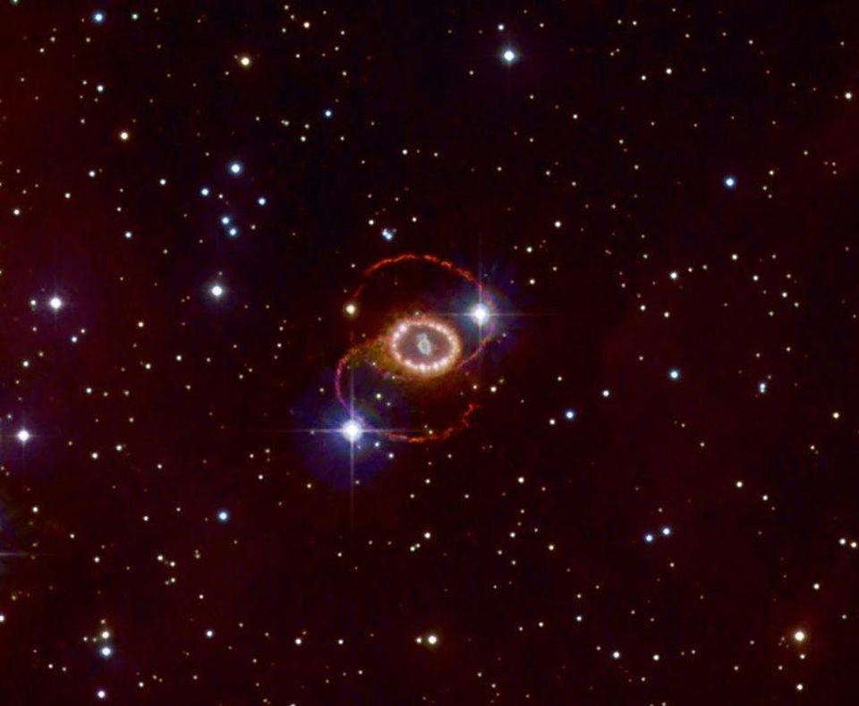 Спросите Итана: почему свет прибыл на 1,7 секунды позже гравитационных волн при слиянии нейтронных звёзд? - 8