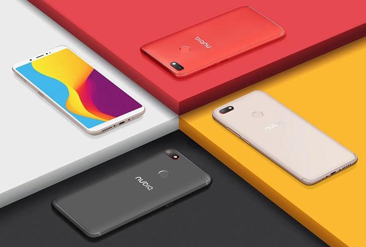 Смартфон Nubia V18 получил SoC Snapdragon 625, 6-дюймовый дисплей и АКБ емкостью 4000 мА·ч - 4