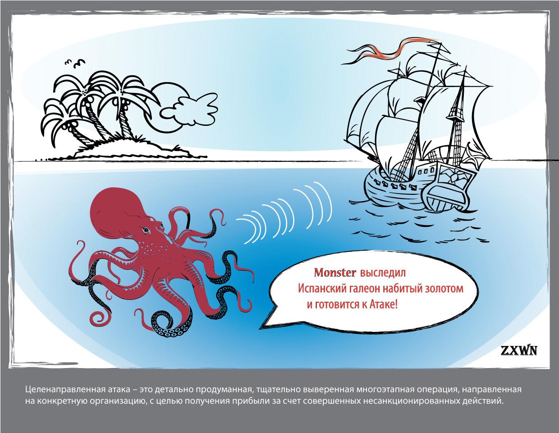 The monster of advanced threat and targeted attack - Монстр передовых угроз и целенаправленных атак - 2