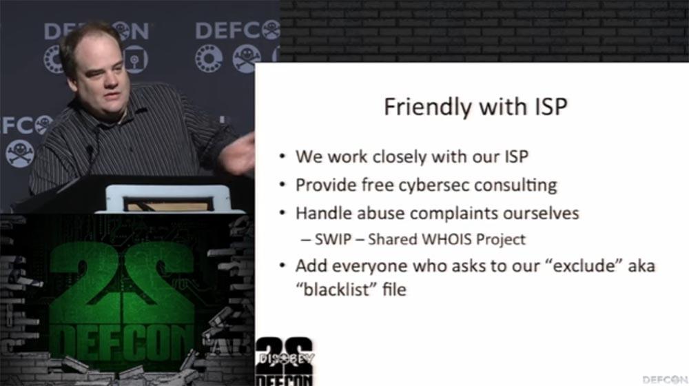 Конференция DEFCON 22. «Массовое сканирование Интернет через открытые порты». Роберт Грэхам, Пол МакМиллан, Дэн Тэнтлер - 6