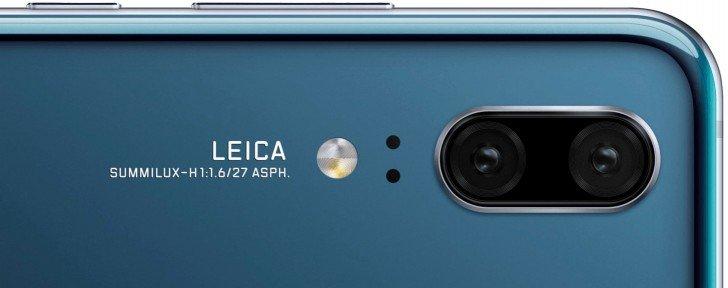 Смартфон Huawei P20 не получит камеру разрешением 40 Мп и пятикратный зум, которые будут только у Huawei P20 Pro