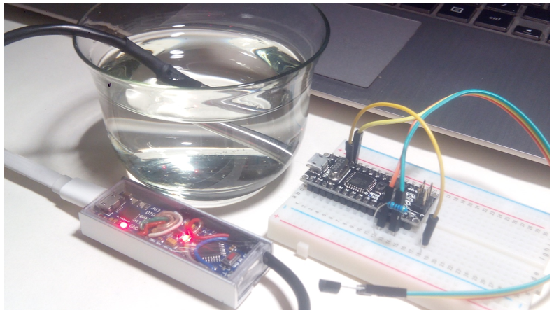 Контроллер Arduino с датчиком температуры и Python интерфейсом для динамической идентификации объектов управления - 3