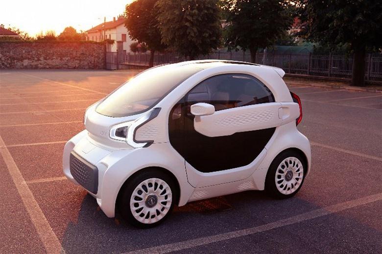 LSEV — первый серийный автомобиль, у которого почти все видимые детали напечатаны на 3D-принтере - 1
