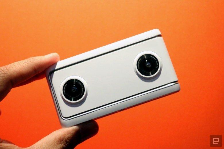 Камера виртуальной реальности Lenovo Mirage доступна для предварительного заказа