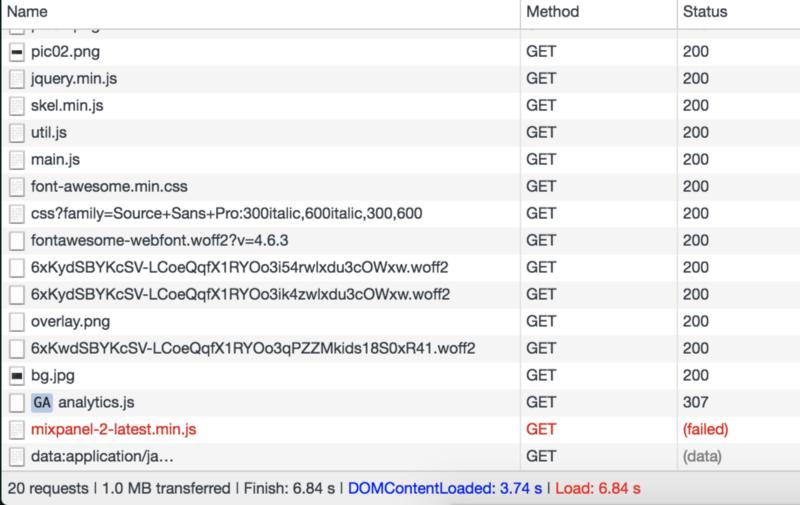 Оптимизация статического сайта: десятикратное ускорение - 2