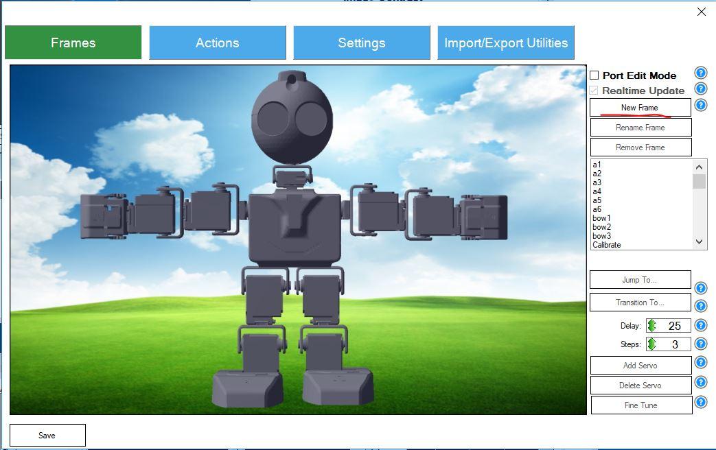 Робот JD Humanoid и службы Microsoft Cognitive Services - 3