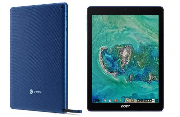 Acer представила Chromebook Tab 10 — первый планшет с Chrome OS - 1