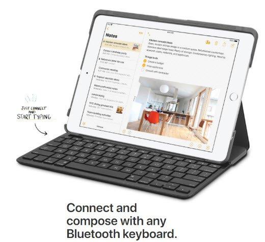 Apple представила новый планшет iPad с поддержкой Apple Pencil за $329