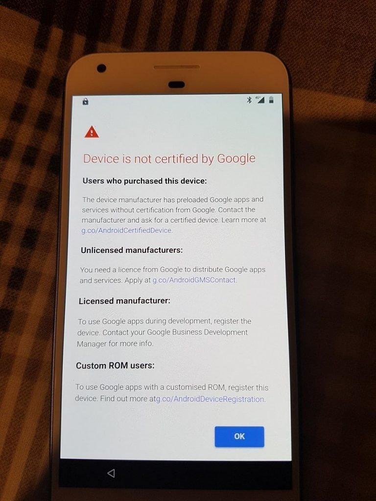 Google начала блокировать свои приложения на несертифицированных устройствах с Android
