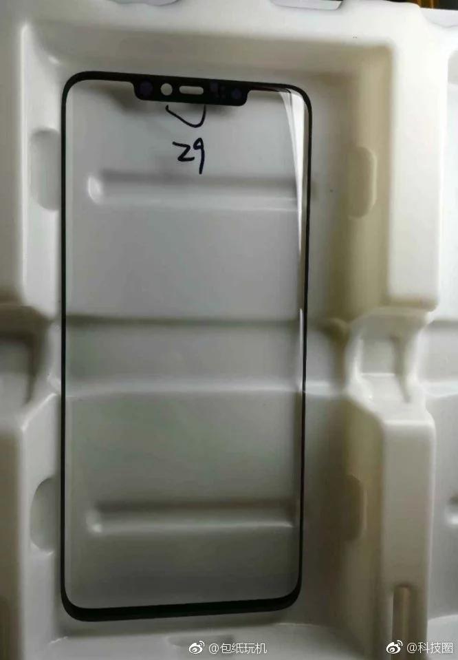 Xiaomi Mi 7 напоминает многие современные смартфоны с вырезом в верхней части дисплея