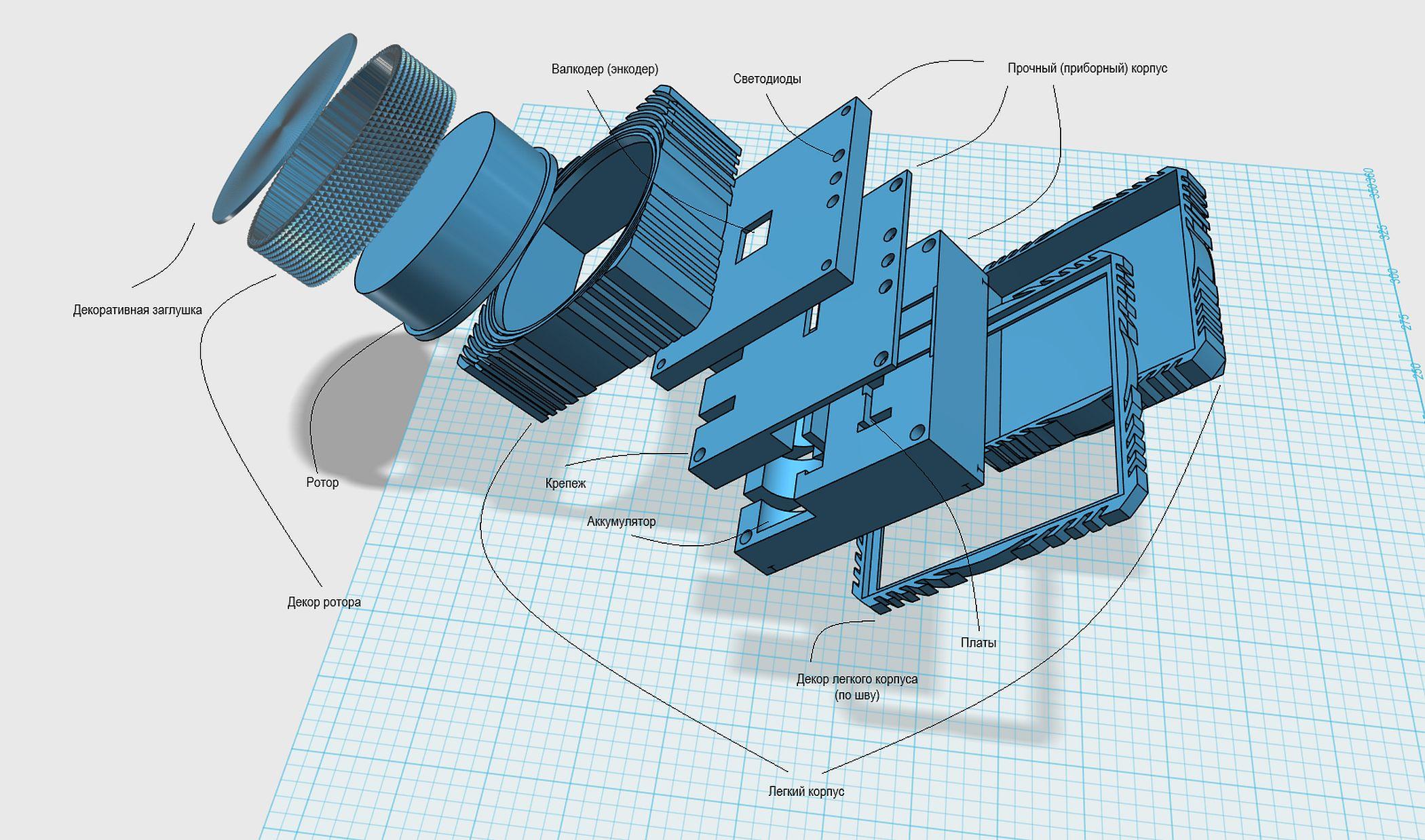 Централизованный пульт контроля источников освещения ЦПКИО-2Д Ротор - 24