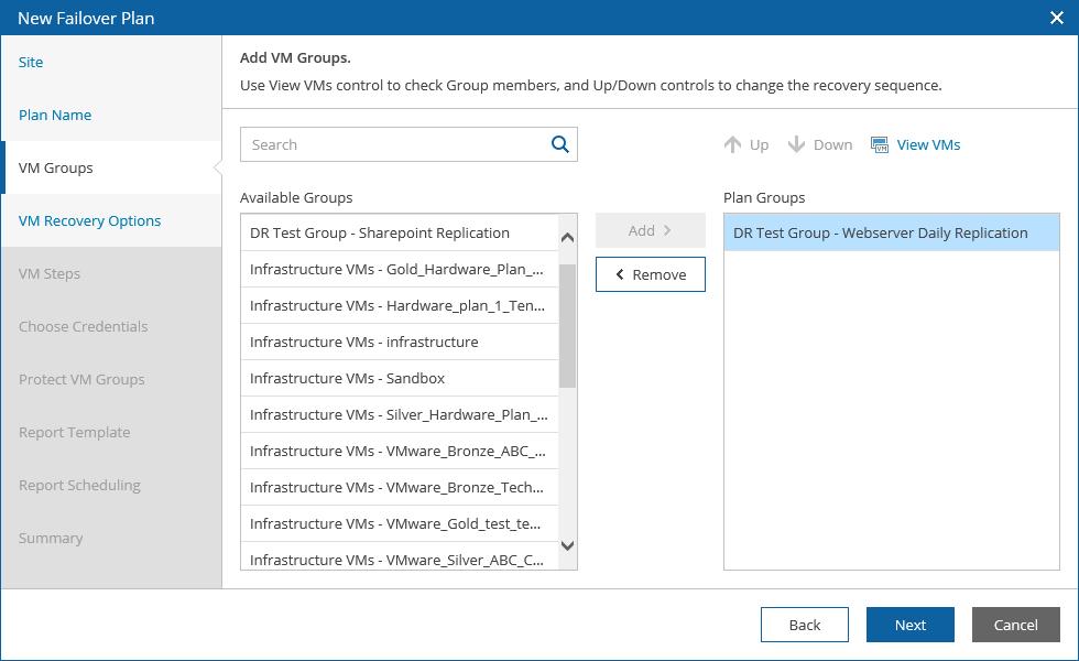 Новое решение для поддержания доступности ИТ-инфраструктуры: Veeam Availability Orchestrator - 4