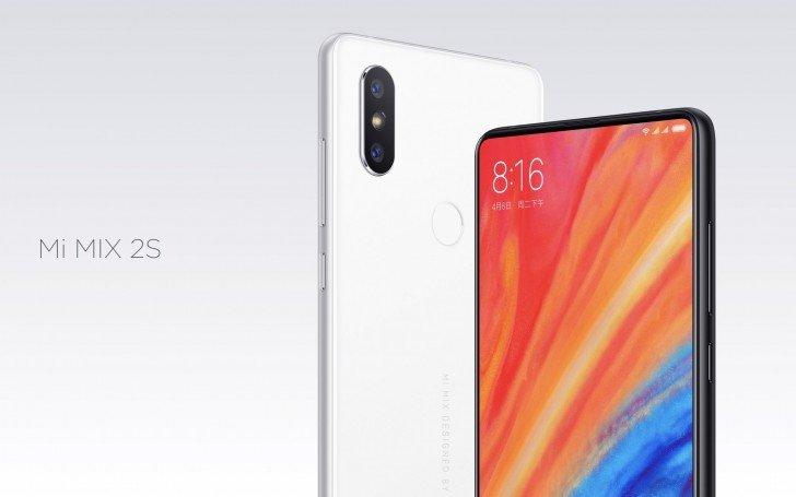 Представлен смартфон Xiaomi Mi Mix 2s, оснащенный Snapdragon 845 и сдвоенной камерой