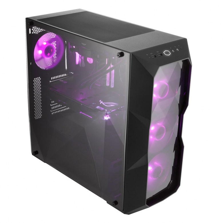 Представлен компьютерный корпус Cooler Master MasterBox TD500L