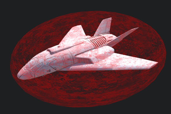Анимированный эффект щита космического корабля в Unity3D - 1