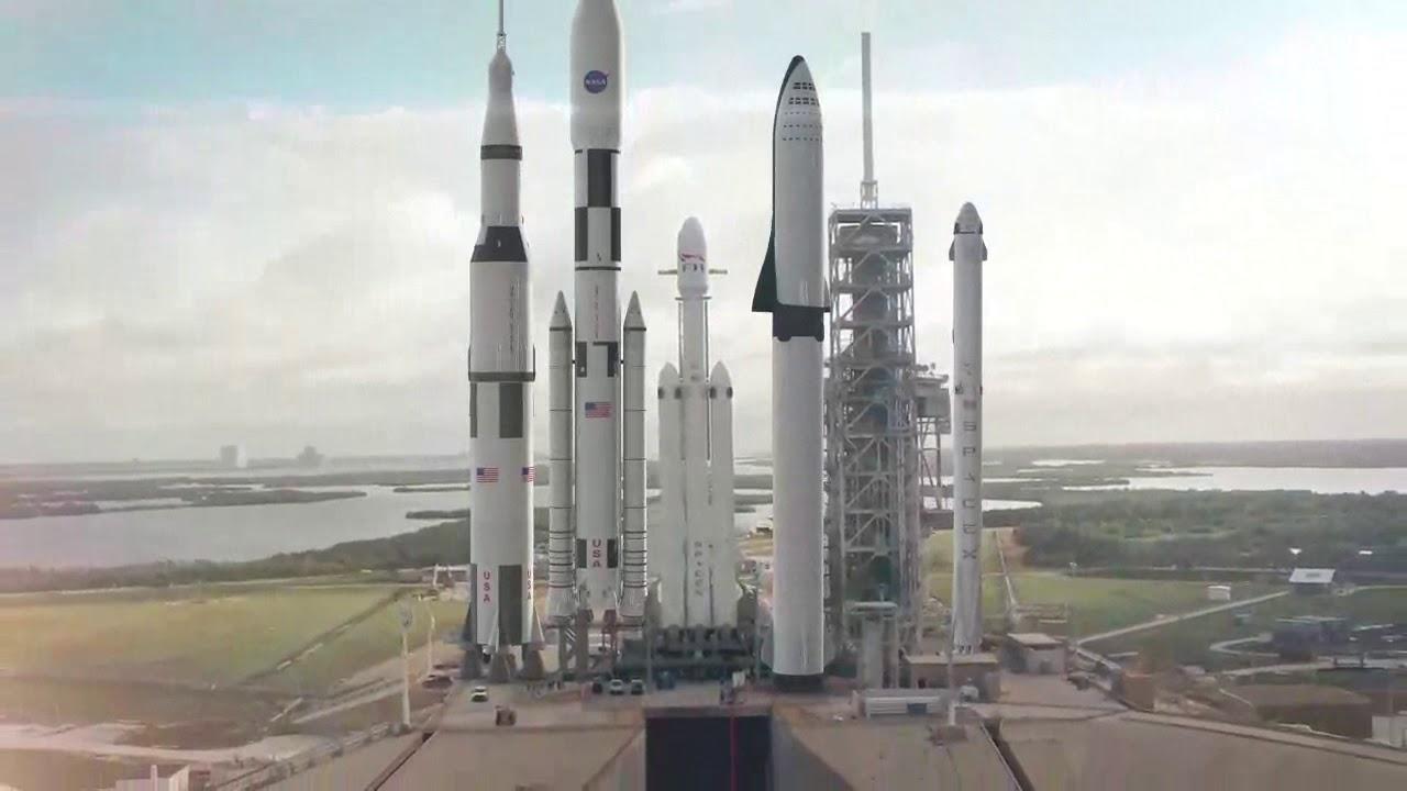 Глава НАСА рассказал, почему агентство продолжает разрабатывать тяжелую ракету-носитель SLS - 1