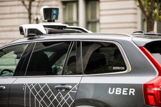 Uber сократил количество датчиков на своих автономных автомобилях