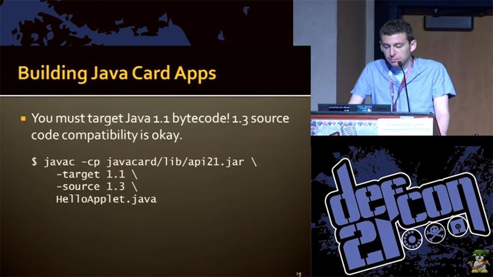"""Конференция DEFCON 21. """"Секретная жизнь SIM карт"""". Эрик Батлер, Карл Кошер - 11"""