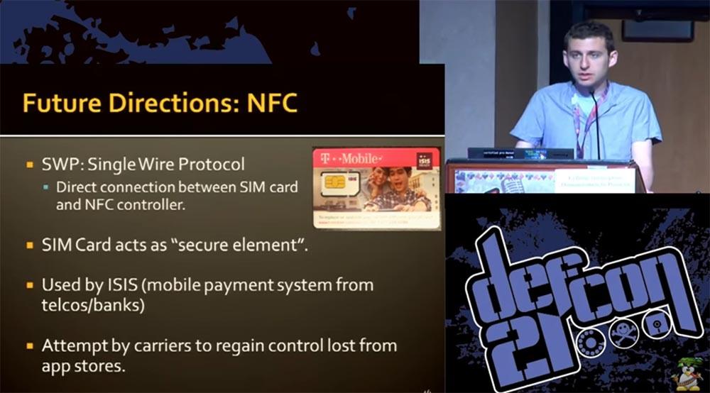 """Конференция DEFCON 21. """"Секретная жизнь SIM карт"""". Эрик Батлер, Карл Кошер - 21"""