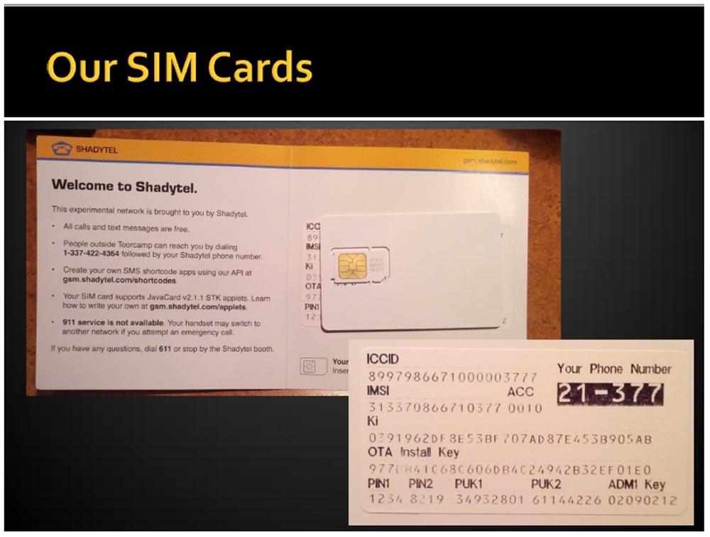 """Конференция DEFCON 21. """"Секретная жизнь SIM карт"""". Эрик Батлер, Карл Кошер - 3"""
