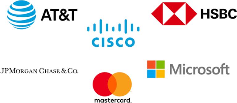 AT&T, Cisco, HSBC, JPMorgan Chase, Mastercard и Microsoft рассчитывают снизить «кибернетический риск»