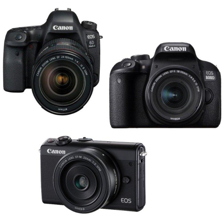 Canon — крупнейший поставщик камер со сменными объективами 15-й год подряд