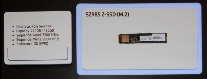 Samsung показала накопитель Z-SSD с памятью Z-NAND, выполненный в формате модуля M.2 - 2