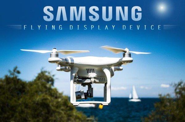 Samsung регистрирует новые патенты, связанные с дронами