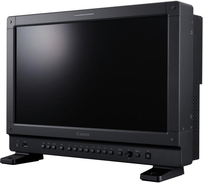 Референсные мониторы Canon DP-V2421 и DP-V1711 предназначены для работы с видео 4K