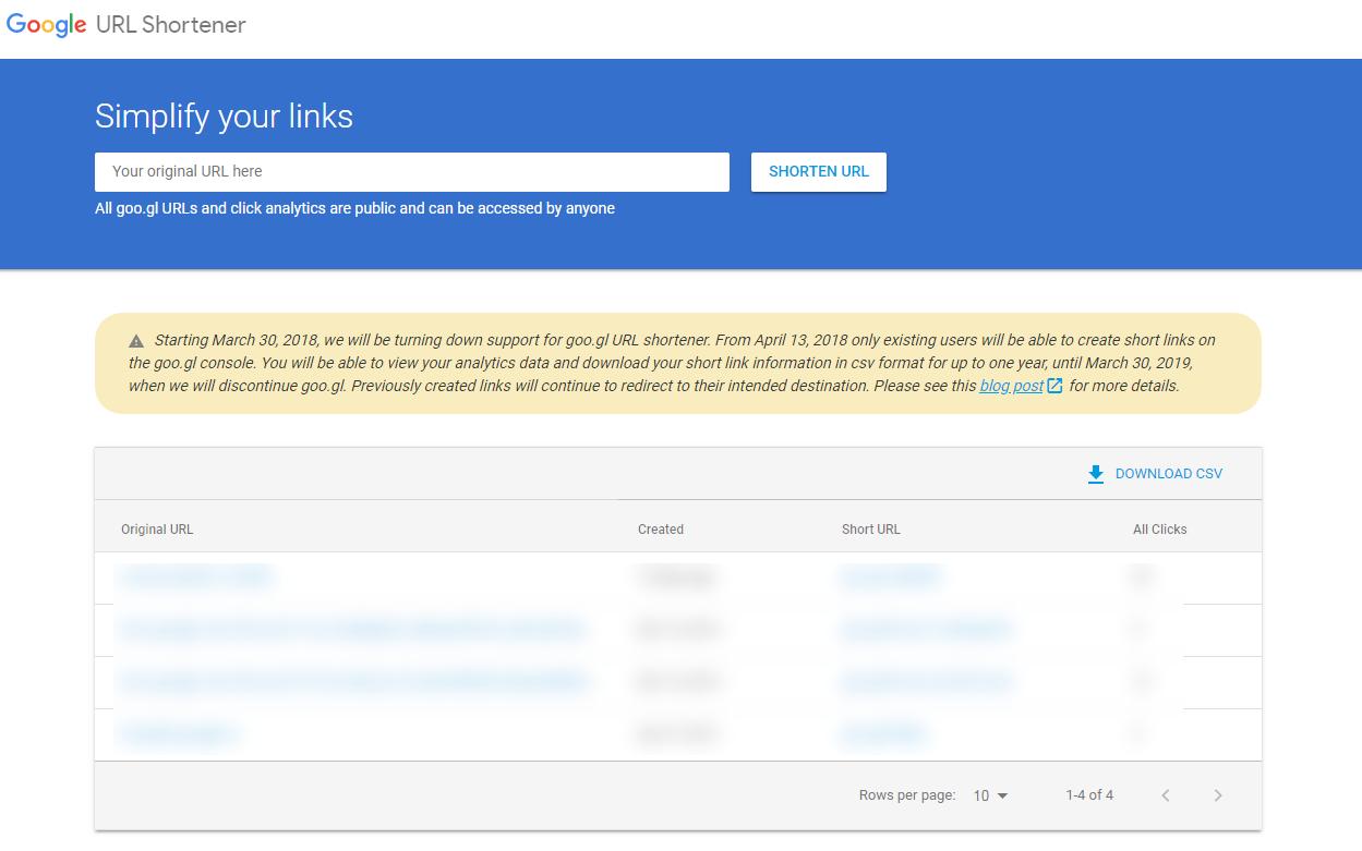 Google закрывает goo.gl. На смену приходит Firebase Dynamic Links - 1