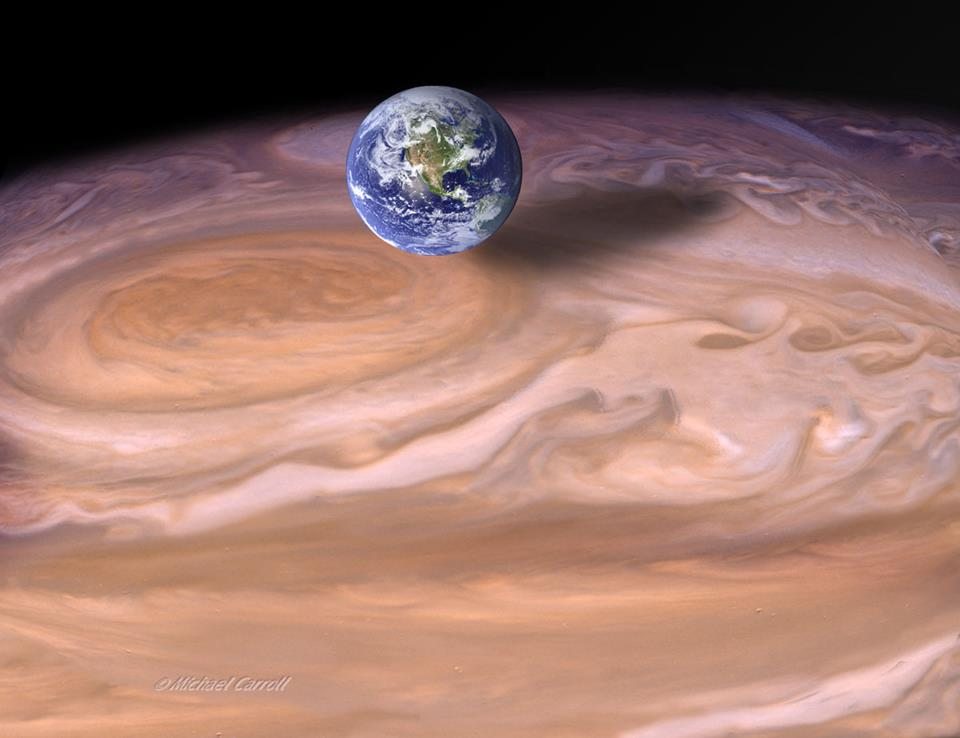 Гигантские пятна гигантских планет - 1