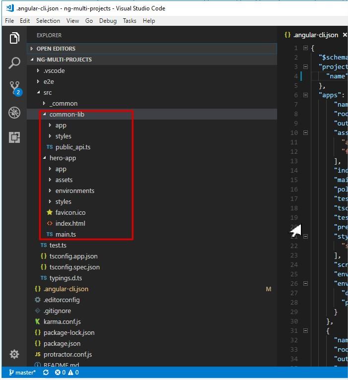 Пример организации кода для сложного Angular проекта - 2