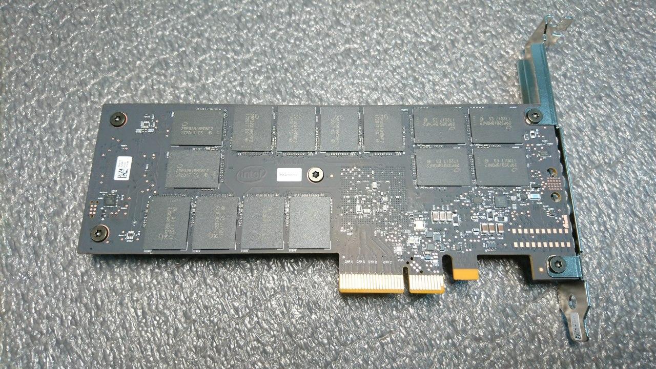 Анализ производительности накопителя Intel Optane SSD 750ГБ - 2
