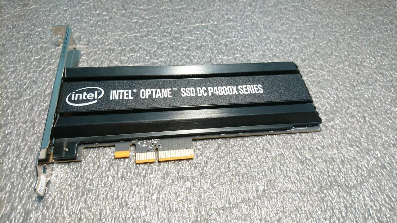 Анализ производительности накопителя Intel Optane SSD 750ГБ - 3