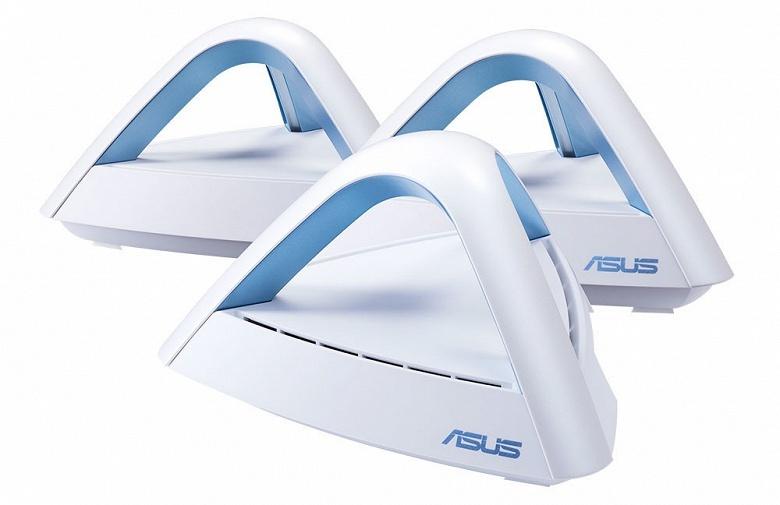 Комплект Asus Lyra Trio для создания сети Wi-Fi Mesh рассчитан на помещение площадью до 500 квадратных метров - 1
