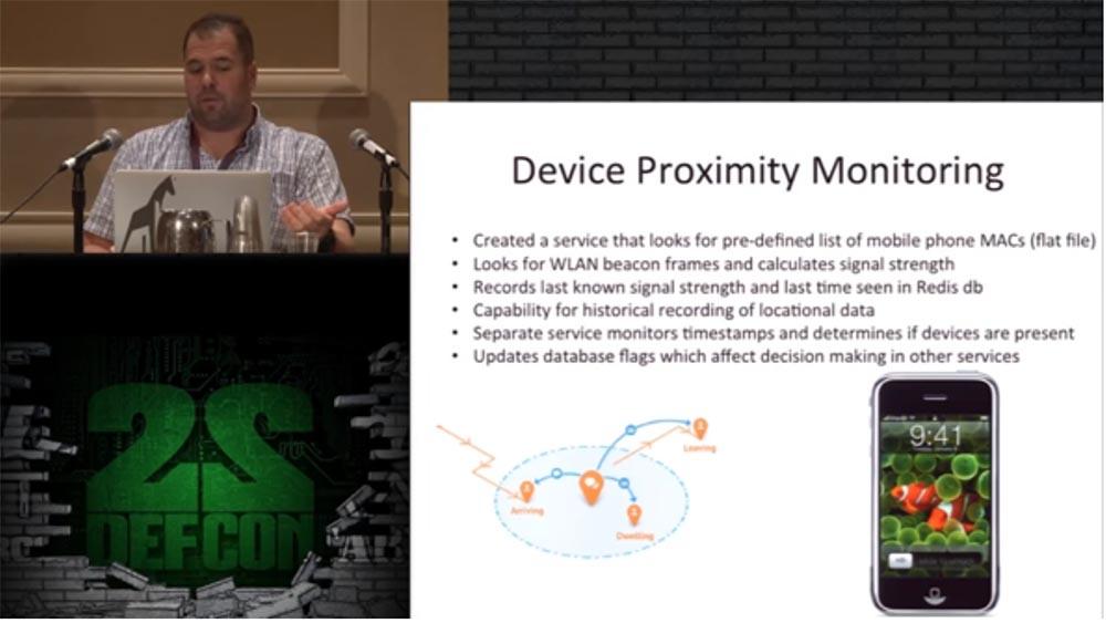 Конференция DEFCON 22. «Один дома с автоматической системой защиты». Крис Литтлбери - 19