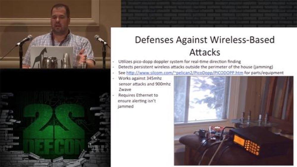 Конференция DEFCON 22. «Один дома с автоматической системой защиты». Крис Литтлбери - 20