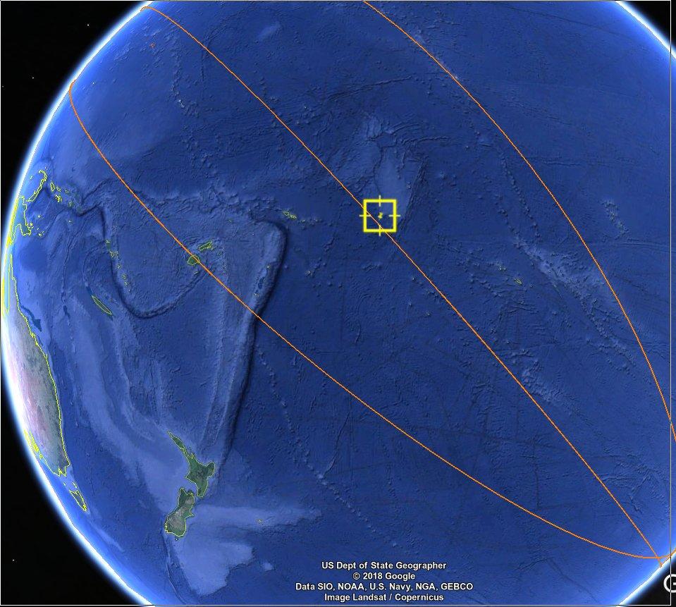 Космическая станция «Тяньгун-1» почти сгорела над Тихим океаном - 3