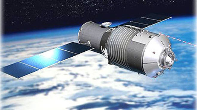 Космическая станция «Тяньгун-1» почти сгорела над Тихим океаном - 1