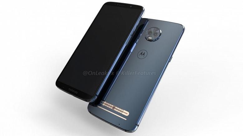 Смартфон Motorola Moto Z3 Play засветился на видео в виде компьютерной модели - 1