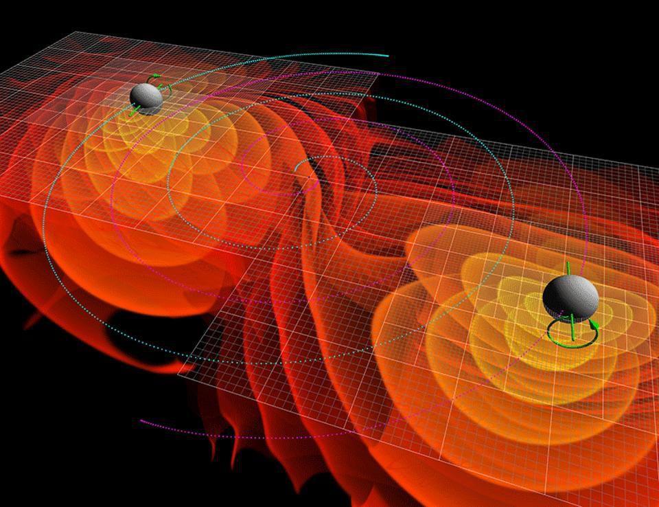 Спросите Итана: может ли материя убежать из-за горизонта событий во время слияния чёрных дыр? - 4