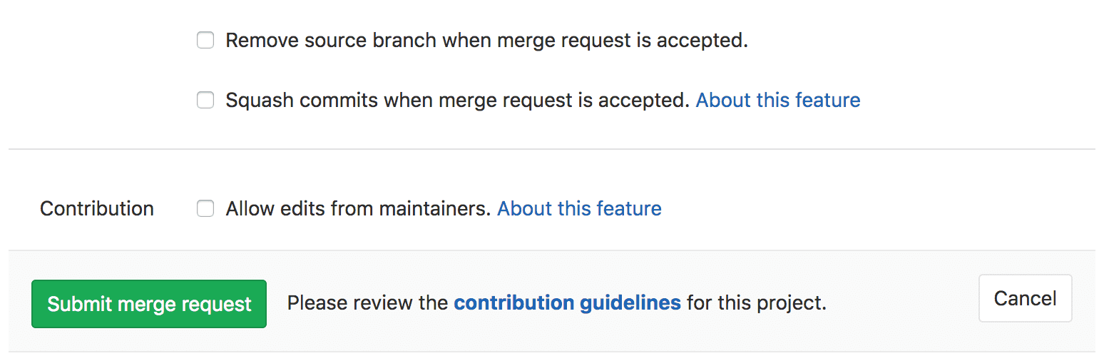 Maintainers can push to MR from fork