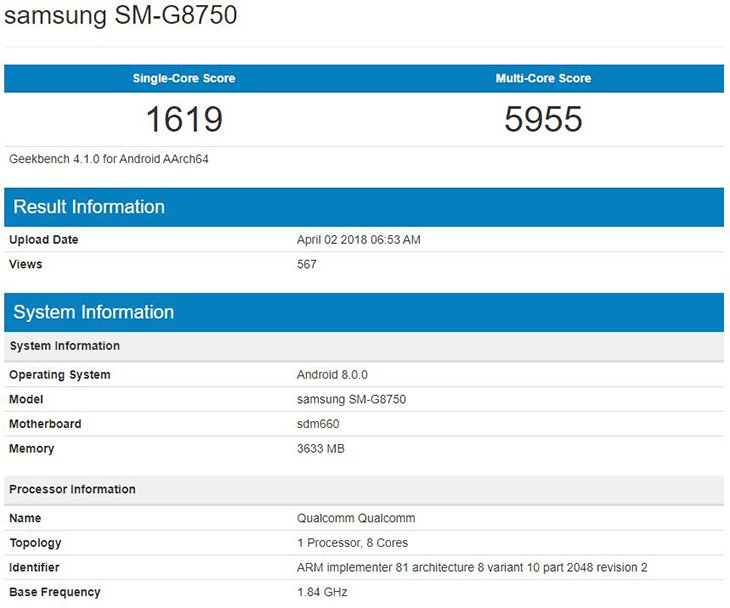 Samsung SM-G8750