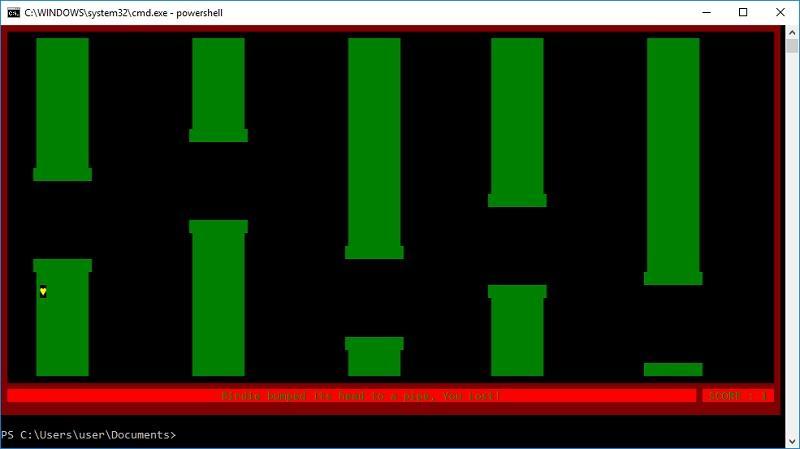 Довольно автоматизации ― пора нарисовать сову на PowerShell и научить консоль говорить - 15