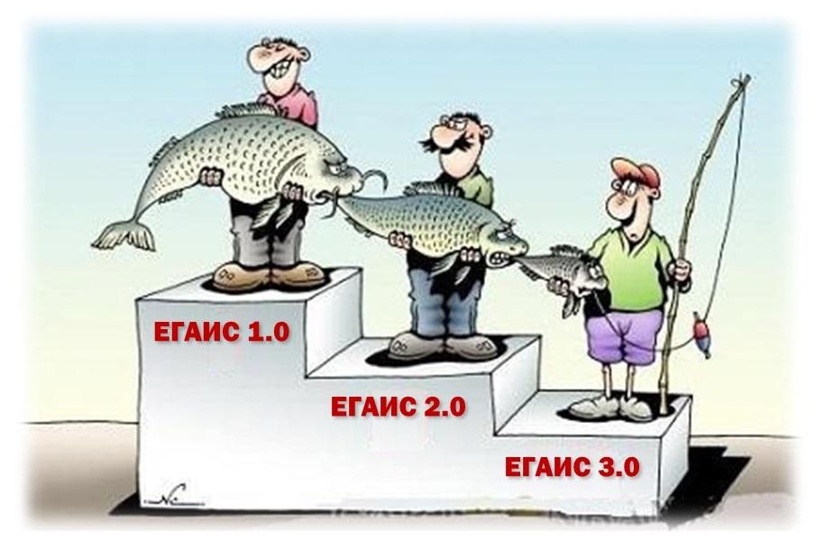 ЕГАИС 3.0 или как не ответить за чужие ошибки - 1