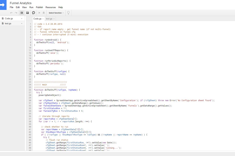 Ищем проблемы с конверсией сайта в Google Spreadsheets - 2