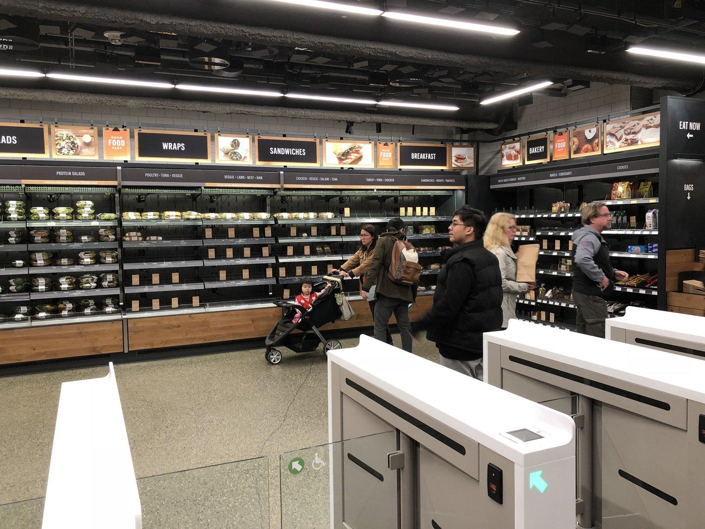 Покупки в Amazon Go - 14