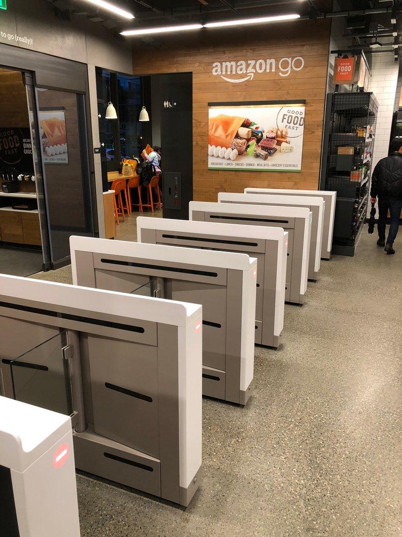 Покупки в Amazon Go - 16